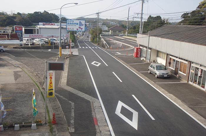 制作例:一般国道204号舗装補修工事