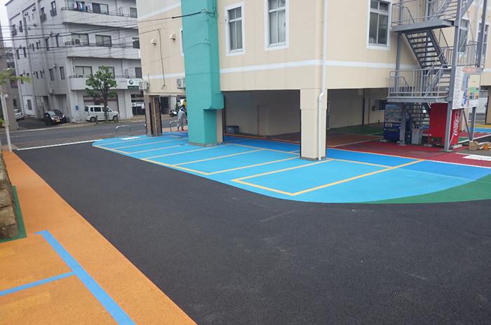 制作例:弊社駐車場舗装補修工事